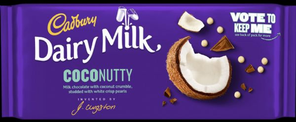Cadbury Inventor Coconutty 105g